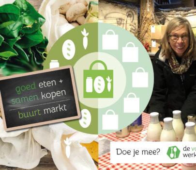 """Webinar """"Hoe start ik een buurtmarkt"""" — online"""