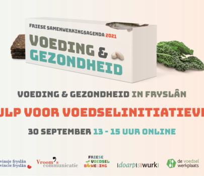 30 september 13-15 uur Symposium Voeding en Gezondheid in Fryslân